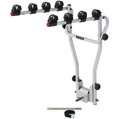 Thule 9708 Hang On 4 Bike Rack - Cycle Carrier - Tow Bar Mounted