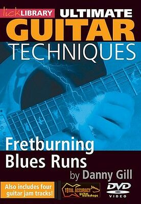 Fretburning Blues Runs Ultimate Guitar Techniques Series Lick Library  000393053