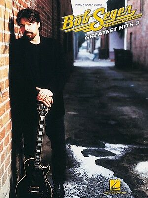 Bob Seger Greatest Hits 2 Sheet Music Piano Vocal Guitar Songbook NEW 000306566