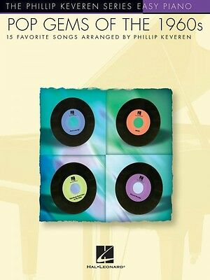 Pop Gems of the '60s Sheet Music Easy Piano SongBook NEW 000311407