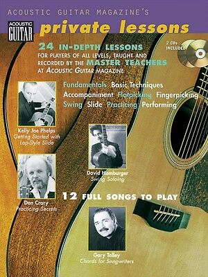 Acoustic Guitar Magazine's Private Lessons - 24 In-Depth Lessons 12 Fu 000695735