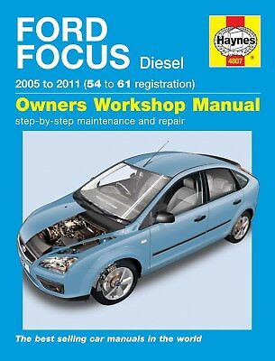 Haynes Manual 4807 Ford Focus 1.6TDCi 1.8TDCi 2.0TDCi Diesel 2005 - 2009 NEW