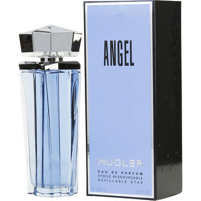 ANGEL 100ml REFILLABLE EDP SPRAY BY THIERRY MUGLER  ------ NEW PERFUME FOR WOMEN