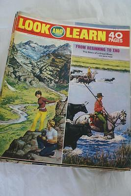 LOOK & LEARN No 464 December 5 1970. British India/Oil/Oliver Goldsmith