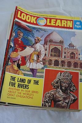 LOOK & LEARN No 555. Sept 2 1972. The Land of Five Rivers/Japan