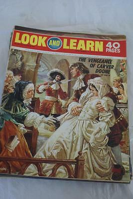LOOK & LEARN No 459. 31 Oct 1970. Carver Doone/Count Cagliostro/Allenby