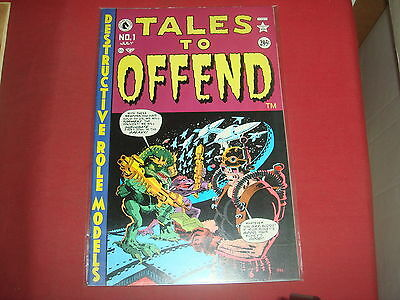 TALES TO OFFEND #1 Frank Miller like Sin City Dark Horse Comics 1997 - NM-