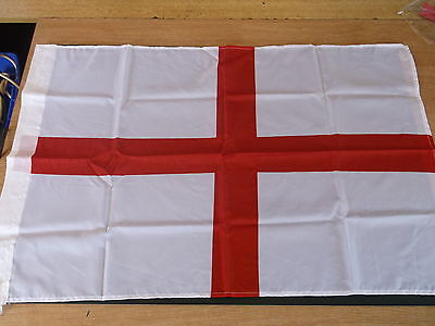 3' x 2' ST GEORGE FLAG England English Georges Cross