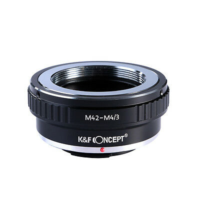 K&F Concept M42 Lens to Micro 4/3 Adapter for Olympus Panasonic M4/3 Mount