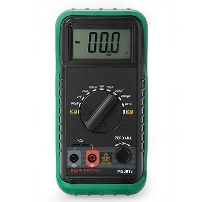 Portable Digital Capacitor Capacitance Tester Meter LCD Display
