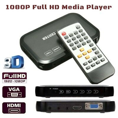 Full HD Multi Media Player 1080P for Music Video files from a USB Hard Drive HDD