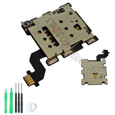 Replacement Nano Sim Card Reader Flex Ribbon For HTC One M8
