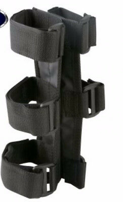 "Black ATV UTV Fire Extinguisher Holder Fits : 1""- 1.5"" Bar 63305.21 Rugged Ridge"
