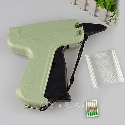 "Clothes Garment Price Label Tagging Tag Gun 3""1000 Barbs + 5 Needles New"