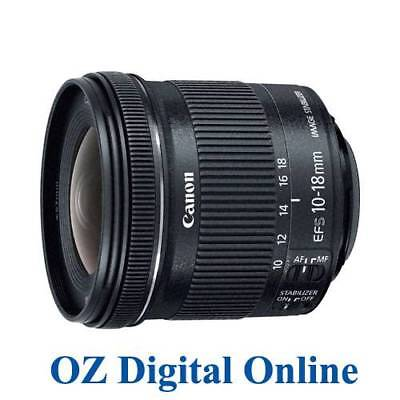 NEW Canon EF-S 10-18mm f/4.5-5.6 IS STM Lens in white box APS-C DSLR 1 Yr Au Wty