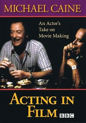 Acting in Film An Actor's Take on Movie Making by Michael Caine Applau 000314749