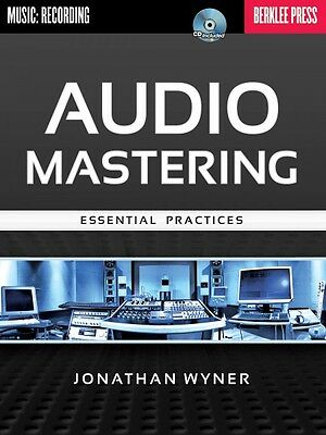 Audio Mastering Essential Practices Berklee Guide Book and CD NEW 050449581