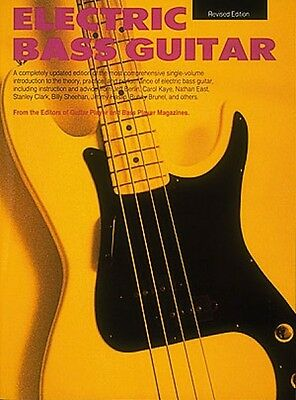 Electric Bass Guitar Guitar Reference Book NEW 000183235