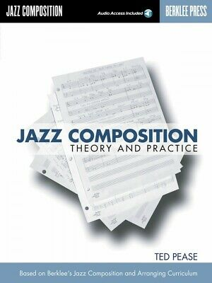 Jazz Composition Theory and Practice Book and CD NEW Berklee 050448000