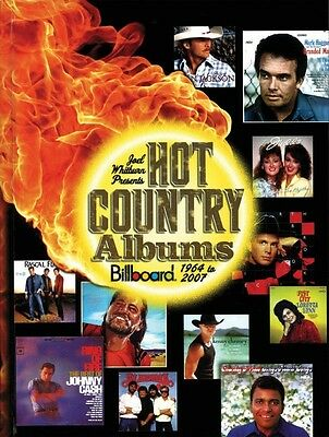 Joel Whitburn Presents Hot Country Albums Billboard 1964 to 2007 Book  000332384