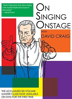 On Singing Onstage Applause Acting Series DVD NEW 000314918