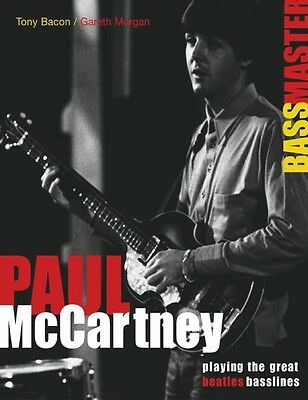 Paul McCartney Bass Master Playing the Great Beatles Basslines Book NE 000331407