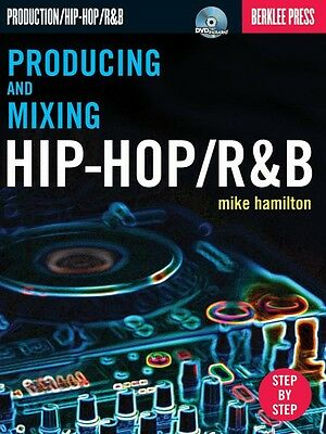 Producing and Mixing Hip-Hop R&B Berklee Guide Book with DVD NEW 050449555