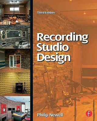 Recording Studio Design 3rd Edition Book NEW 000127929