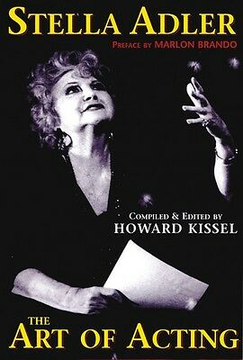Stella Adler The Art of Acting preface by Marlon Brando compiled & edi 000314331
