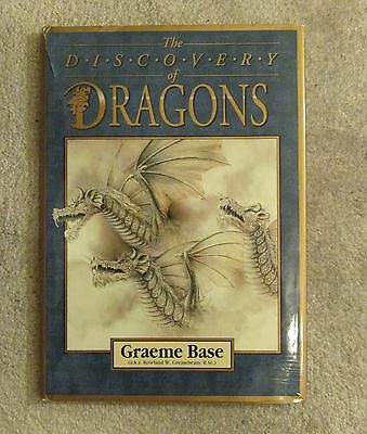 discovery of dragons      graeme base    book