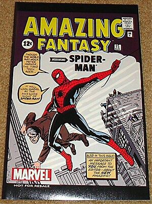 AMAZING FANTASY 15 OCT OCTOBER 2002 2nd PRINT GIVEAWAY PROMO VARIANT SPIDERMAN