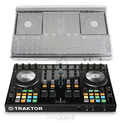 Native Instruments Traktor Kontrol S4 MK2 With Decksaver Digital DJ NI Tractor