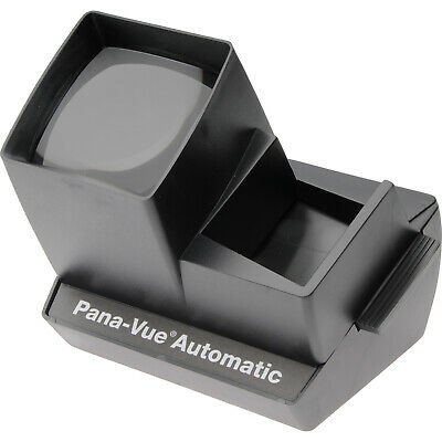 Pana-Vue Automatic Lighted 35mm 2x2 Slide Viewer NEW
