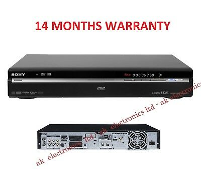 Sony Region Free RDR-HXD970 250GB DVD HDD Recorder Freeview HDMI Twin Tuner PVR
