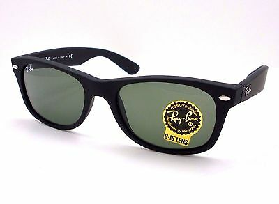 Ray Ban New Wayfarer 2132 622 Matte Black Rubber Authentic Buyer Picks Size