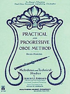 Practical and Progressive Oboe Method with Reed Making and Melodious a 003770170