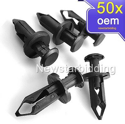 50x ATV Fender Clips For HONDA 450R RUBICON RANCHER FOREMAN POLARIS SPORTSMAN