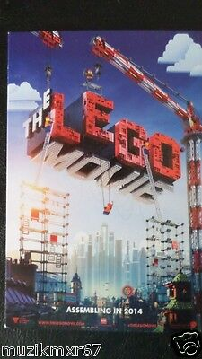 SDCC Comic Con 2013 EXCLUSIVE The Lego Movie lobby promo card