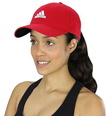 Adidas Women's Performance Side Hit Structured Red Hat