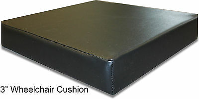 Wheelchair Seat Cushion Vinyl 3""