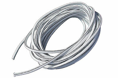 "USA 3/16"" x 25' Bungee Cord Shock Cord Bungie Cord Marine Grade Stretch Cord WHT"