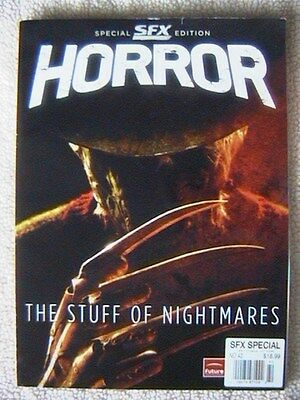 """HORROR """"SPECIAL SFX EDITION"""" THE STUFF OF NIGHTMARES MAGAZINE WINTER 2010"""