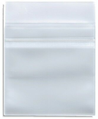 1000 Clear Plastic Sleeve CPP with Resealable Flap CD DVD R Disc 100 Micron
