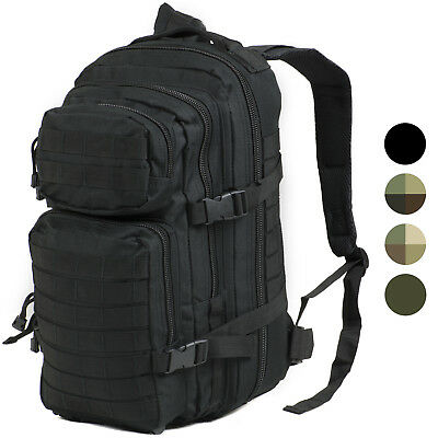 30L MOLLE Assault Pack Backpack/Rucksack Military Cadet Army Bag Nitehawk