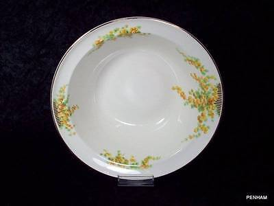 TAYLOR SMITH & TAYLOR - ROUND VEGETABLE BOWL - PATTERN TST1070 SNOWBALL FLOWERS