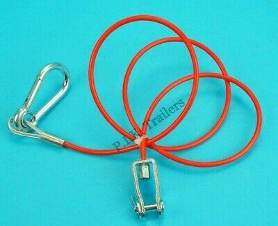 Heavy Duty Breakaway Cable CLEVIS PIN Ifor Williams Trailers    #502B