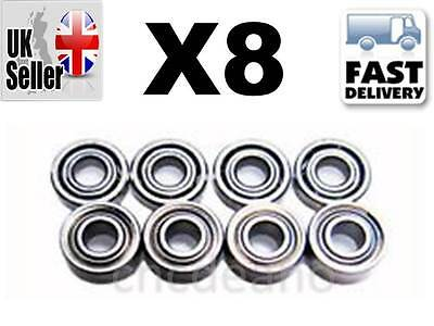 8 X QUALITY UPGRADE DRIVE GEAR BEARINGS Parrot AR DRONE 1.0 & 2.0 QUADRICOPTER