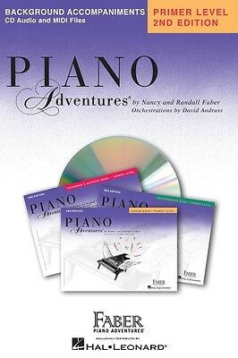 Primer Level Lesson Book CD 2nd Edition Piano Adventures Faber Piano A 000420068