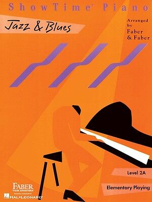 ShowTime Jazz & Blues Level 2A Faber Piano Adventures Book NEW 000420154