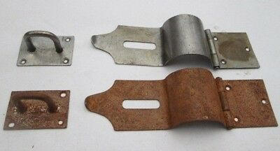 Safety Hasp and Staple Latch Lock For Blanket box Chest Linen box trunk Padlock